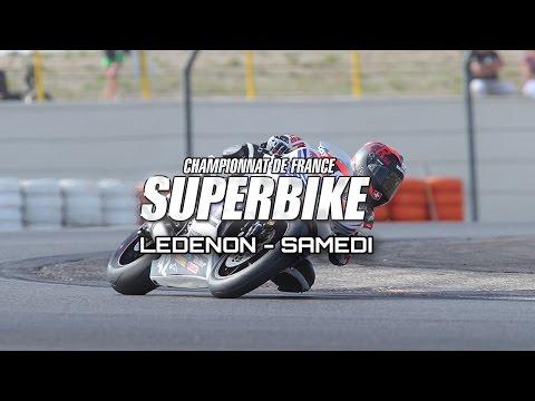 FSBK : Ledenon - Résumé samedi
