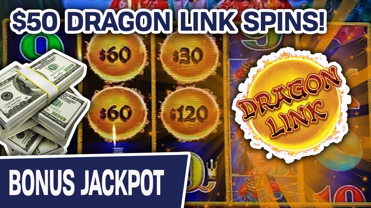 🐲 Dragon Link Jackpot Handpay! 🦚 $50/SPIN Playing Peacock Princess Slots