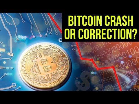 Is Bitcoin In A Crash Or A Correction? 🔺