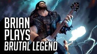 Brian Plays Brutal Legend