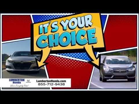 Lumberton Honda - It's Your Choice!