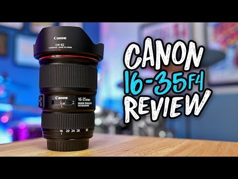 Canon 16-35 F/4 Review: My Favorite Wide Angle Lens