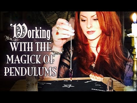 Working With The Magick of Pendulums ~The White Witch Parlour