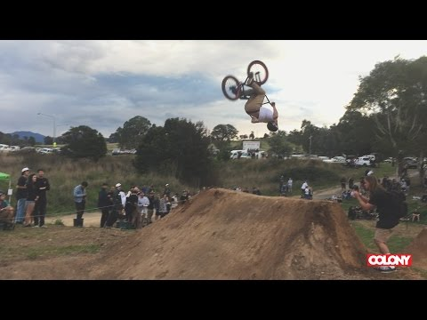 Chris James roasted a wild double flip at this years ACT JAM in Canberra. Follow him on Instagram: https://www.instagram.com/chrisjamesbmx/ Thanks for ...