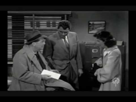 """It's a Great Life (1950's sitcom) """"Private Eyes"""" (James Dunn, Frances Bavier) Pt. 1 of 3"""