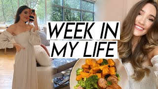 WEEK IN MY LIFE   mental health chat, feeling inspired, huge PO box haul, working out!