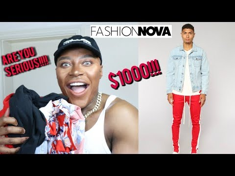 Fashion Nova Mens!! FIRST IMPRESSIONS!!