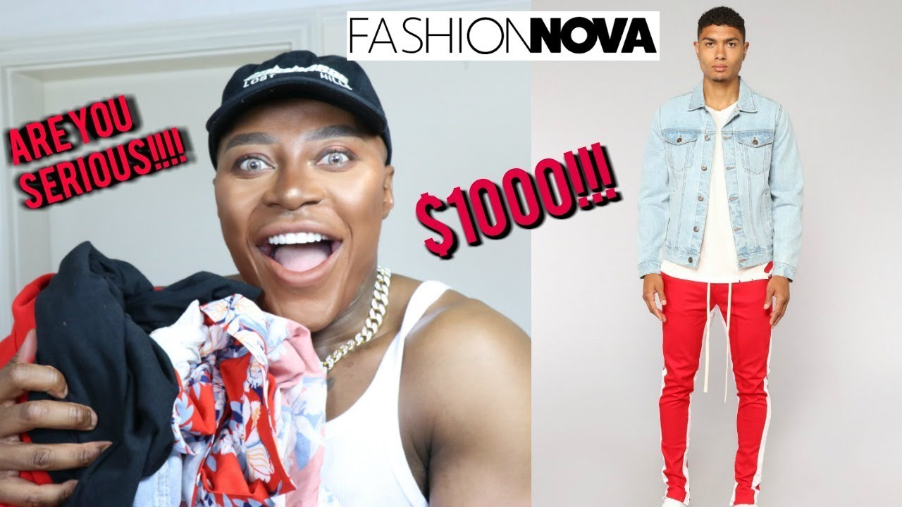 b1c509d1bbe Fashion Nova Mens!! FIRST IMPRESSIONS!! - YouTube