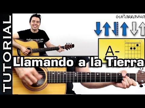 Como tocar LLAMANDO A LA TIERRA de M Clan en guitarra MUY FACIL!
