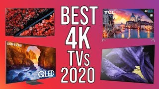 TOP 5 BEST 4K TVs of 2020