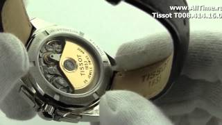 Мужские наручные швейцарские часы Tissot T008.414.16.051.00