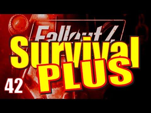 Fallout 4 Survival Mode Walkthrough Part 42 - Showdown at the Cabot House