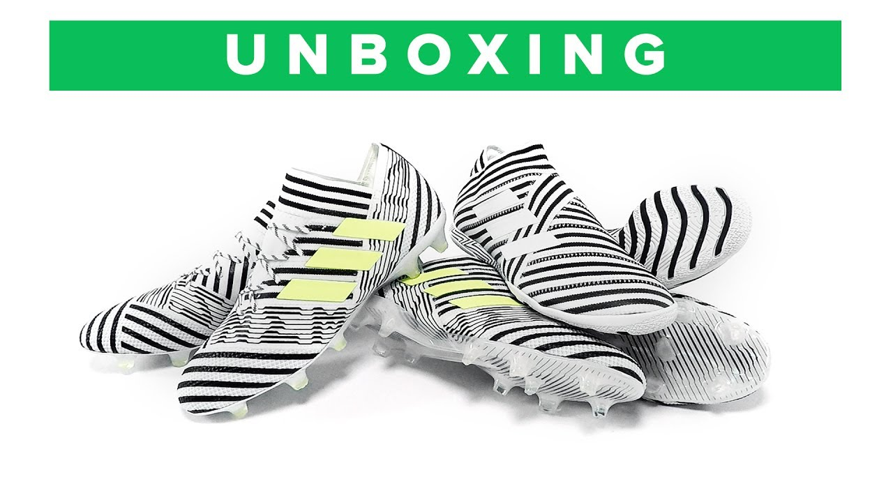 dd11878b509d adidas Nemeziz 17+ 360Agility Unboxing - all the football boots from the New  Messi silo