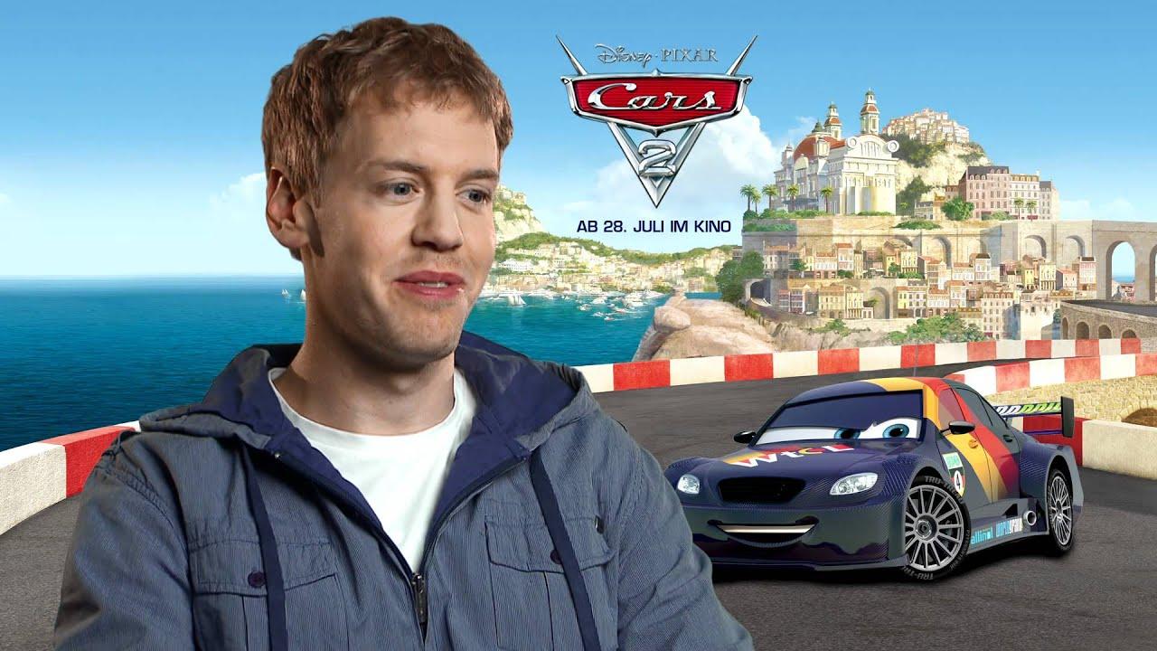 Cars 2 - Sebastian Vettel über Sebastian Schnell - YouTube