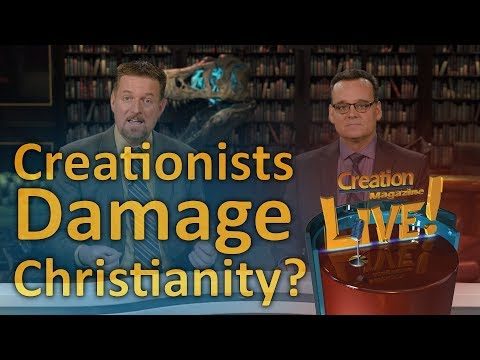 Creationists damage Christianity?