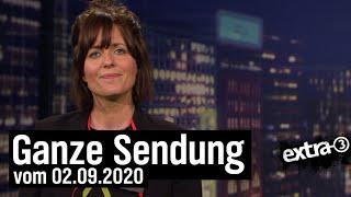 Extra 3 vom 02.09.2020 mit Sarah Kuttner
