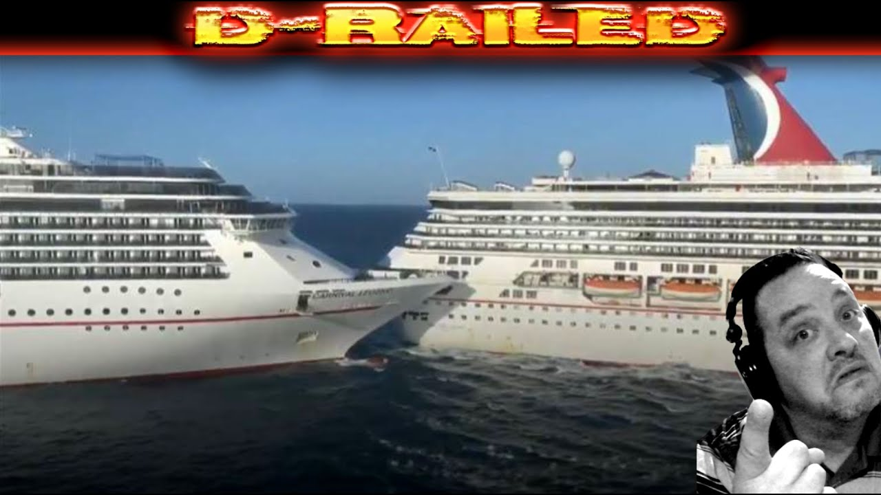 Cruise Ships Collide in Cozumel Mexico VIDEO Carnival ...