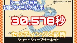 【超速GP】シーズン56 ショートシェーブサーキット初日の結果!30秒台なんとか!【ミニ四駆 超速グランプリ】のサムネイル