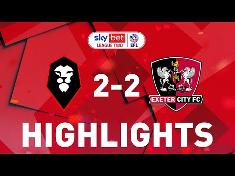 Salford Exeter City Goals And Highlights