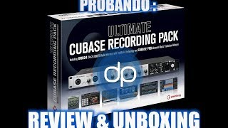 |Steinberg ULTIMATE RECORDING PACK |Review|Unboxing|UR824 & Cubase PRO