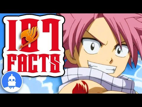 107 Fairy Tail Facts YOU Should Know! New and Improved! - Anime Facts (107 Anime Facts S2 E3)