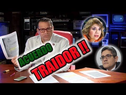 """PHILLIP BUTTERS : """"ACTA DE ACUERDO ENTREGÍSTA, TRAIDOR, ECHADO"""""""
