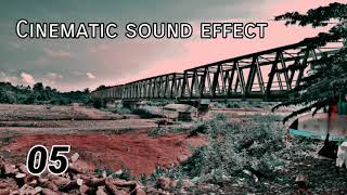 Gambar cover Free download 10 cinematic sound effect | cinematic backsound