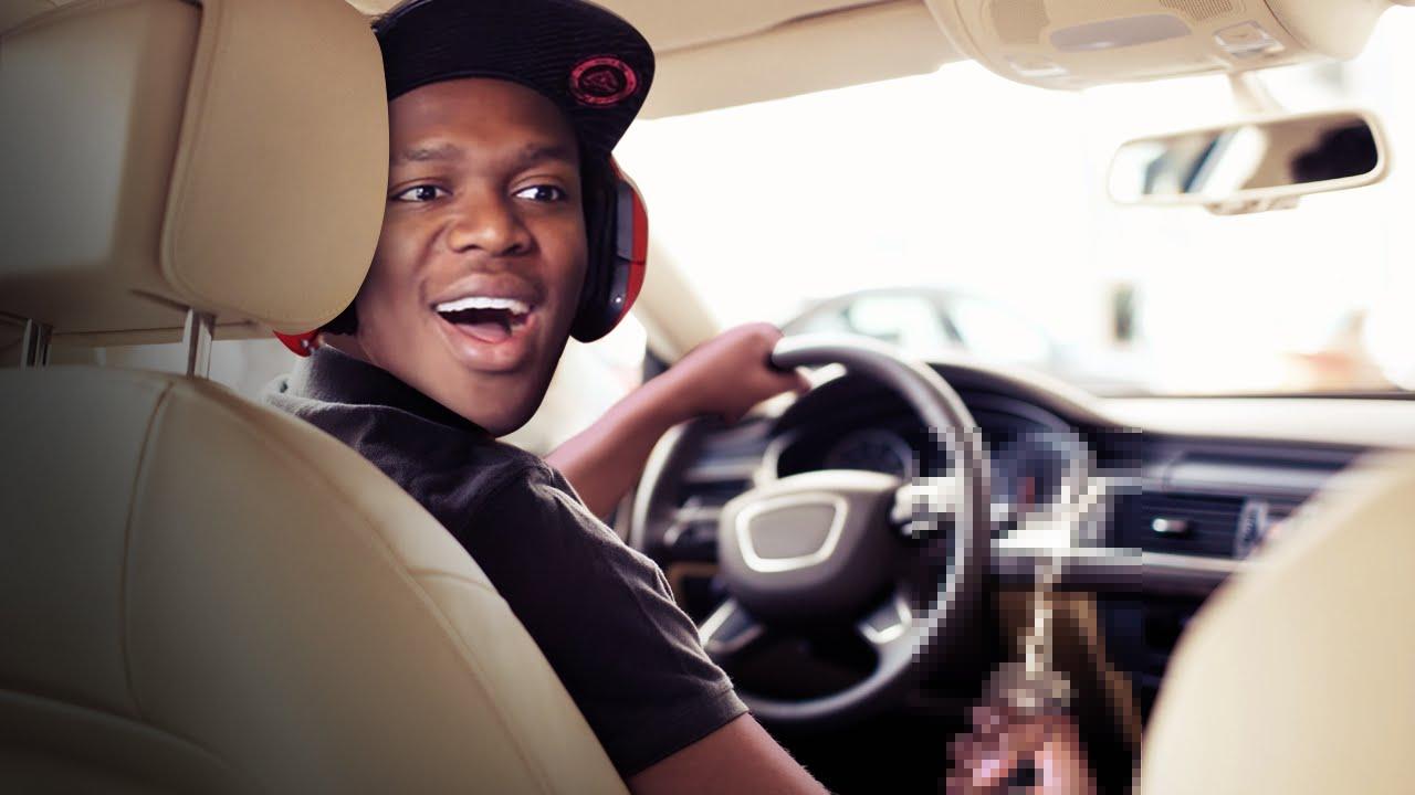 Jerking off in a car
