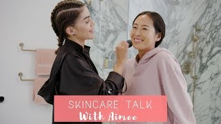 LIFE SWAP with Aimee Song - Skincare Routine