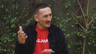 Max Holloway UFC 212 Media Lunch Scrum - MMA Fighting