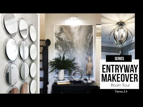 DIY Entryway Makeover – Room Tour | Episode 7