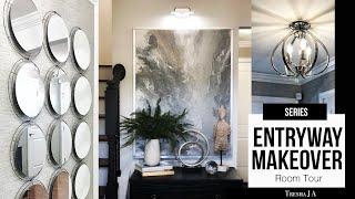 DIY Entryway Makeover - Room Tour   Episode 7