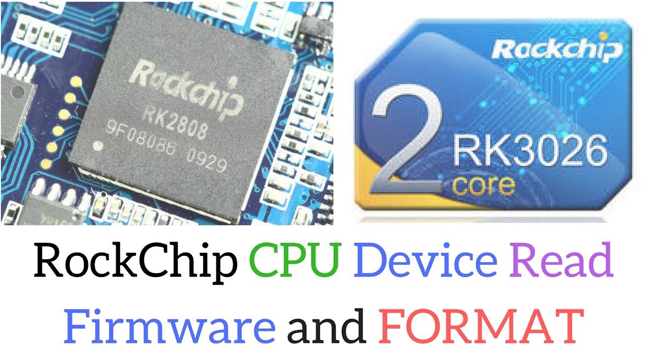 How to read/backup RockChip Firmware and Factory reset using CM2 RKT Module  ?
