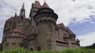 Замок Кройценштайн ОБЗОР (Burg Kreuzenstein) -часть-1 Замки Австрии ???? Моя Планета
