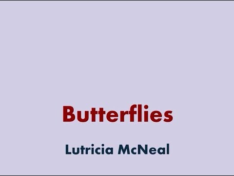 Butterflies - Lutricia McNeal [lyric video]