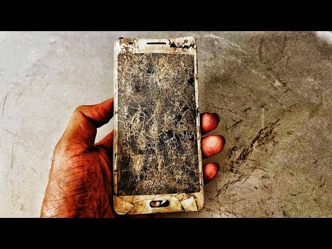 Restoration old broken Samsung smartphones | 6-year-old smartphone restore destroyed