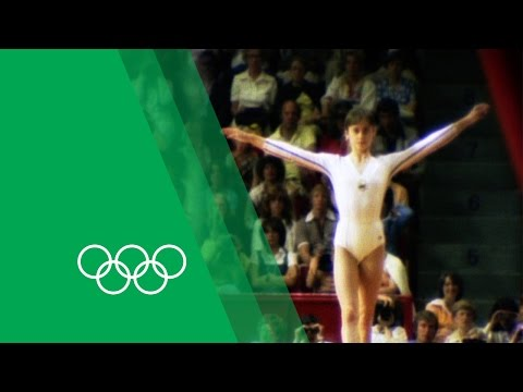 Nadia Comăneci on her Montréal Olympics triple-gold | Olympic Rewind
