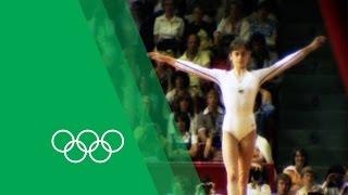 Nadia Comăneci on her Montréal Olympics triple-gold   Olympic Rewind