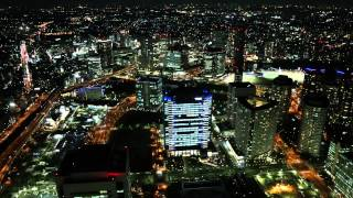 OSAKA,YOKOHAMA,TOKYO Sunset and Night