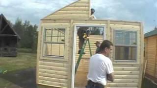 Log Cabin Kit Assembly Video