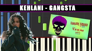 GANGSTA (Kehlani || SUICIDE SQUAD) Piano Tutorial / Cover SYNT…