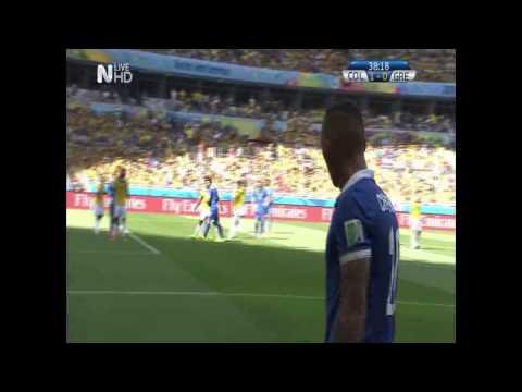 Colombia-Greece 3-0 (by Www.PatraGoal.Gr)