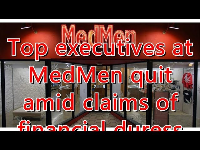 Top Execs At American Weed Retailer Medmen Quit Amid Ex