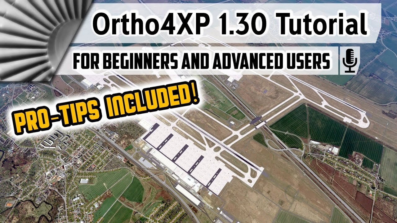 Photographic Scenery for X-Plane Using Ortho4xp