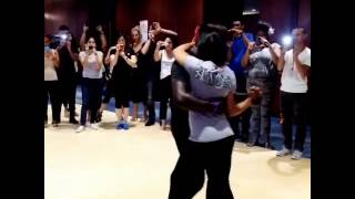 Anya & Junior Kizomba Clip Demo
