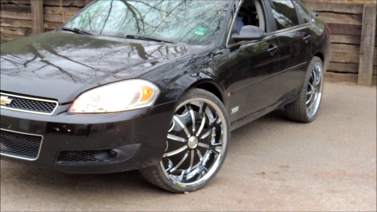 08 Impala Ss Strut Lift 24s Youtube