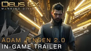 Adam Jensen is the next step in human evolution In Deus Ex Mankind Divided he is now an experienced covert operative forced to operate in a world that has