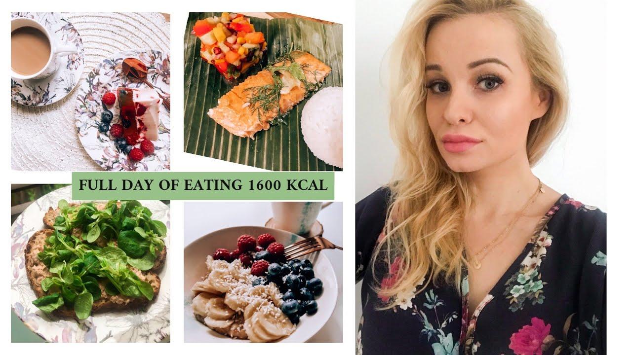 1600 kalorier per dag