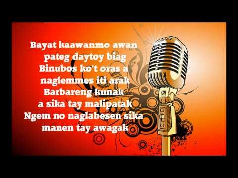 Kasano Ti Manglipat (Naglemmes Ti Arak) - Minus One