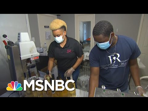 Surviving the Next Wave: Black-Owned Texas Winery Fights To Stay Afloat Amid Covid   MSNBC